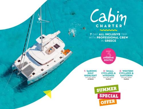 Vacanta pe yacht in Grecia, 7 nopti! (avion + cazare Atena + mic dejun + transfer aeroport + cazare yacht + demipensiune)